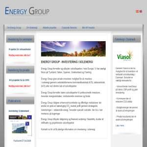 Energy Group -  investerer i solcelleparker