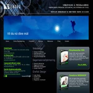 Enovo | Webdesign, grafisk design & programmering