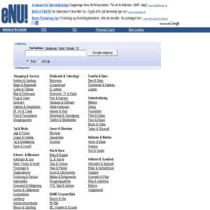 eNU! Shopping & Prissammenligning