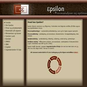 Epsilon procesanalyser og optimeringer