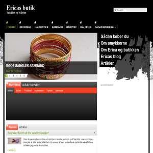 Ericas butik - håndlavede smykker og malerier