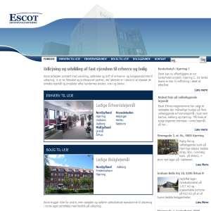 Escot.dk - Udlejning af erhvervslokaler og private boliger