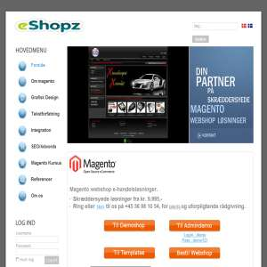 Skræddersyede Magento Webshop Løsninger