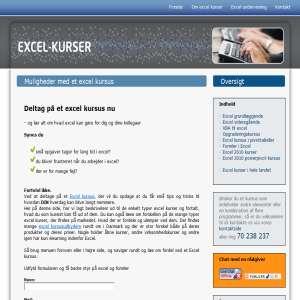 Excel kurser