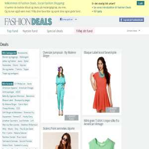 Online clothing deals