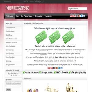 Fashion Silver Smykker Online