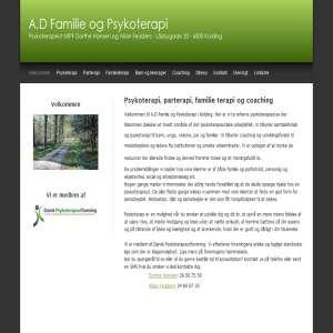 A.D famile- og psykoterapi