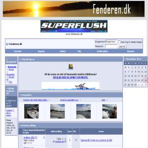 fenderen.dk - bådsite