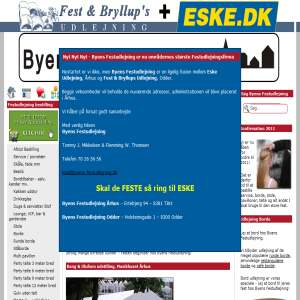 Fest & Bryllups Udlejning