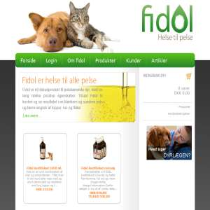 Fidol helse til hundepelse