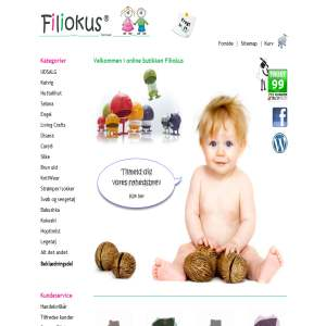 Filiokus - økologisk børnetøj