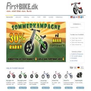 Løbecykel Fra FirstBIKE - Børnecykler Der Skaber Glæde!