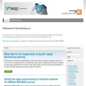 fjernbackup.nu | Remote backup | Fjernbackup