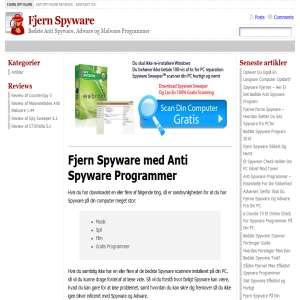Fjern Spyware