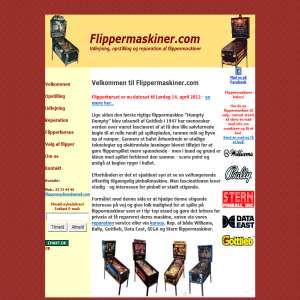 Flippermaskiner.com - reparation, udlejning, opstilling og kursus i reparation af flippermaskiner