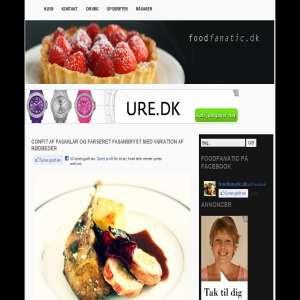 Foodfanatic.dk - Alt om Mad og Opskrifter