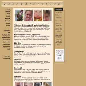 Fotomaleren - portrætmaleri efter dit foto og dine ønsker