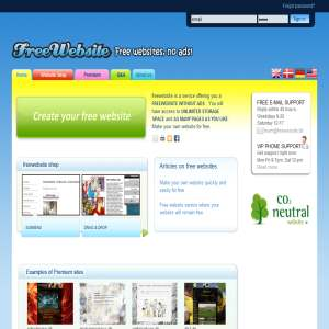 Freewebsite Service