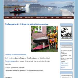 Friluftseksperten.dk - Vi tilbyder Havkajak og kanokurser og ture