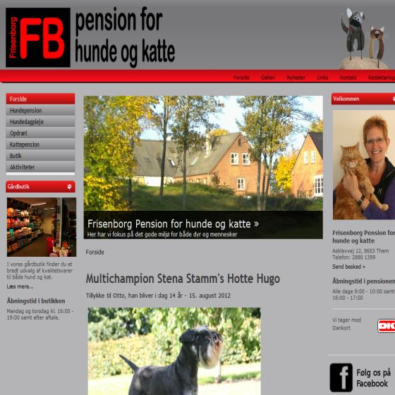 Frisenborg hundepension og kattepension