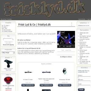 Frisklyd.dk Mp4 - Mobil Anlæg - Diskoteks udstyr
