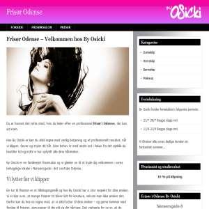 Frisør i Odense By Osicki