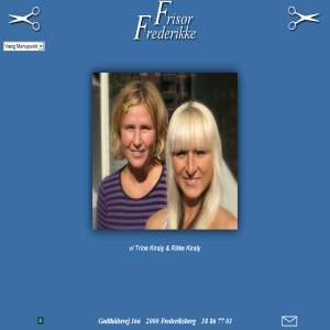 Frisør Frederikke