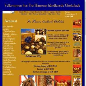 Fru Hansens Chokolade