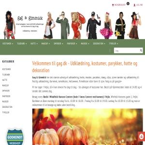 Gag.dk - Kostumer til fair priser