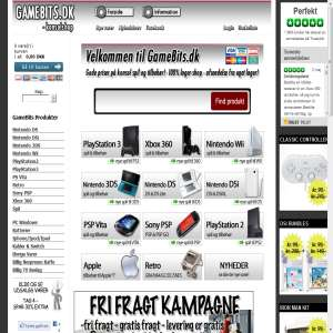 GameBits.dk Konsolshop - Alt til PS Vita, PlayStation 3, Xbox 360, Nintendo Wii, DS og 3DS.