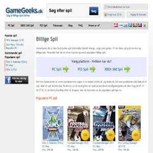 Billige Spil - GameGeeks