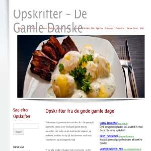 Gamle Danske Opskrifter