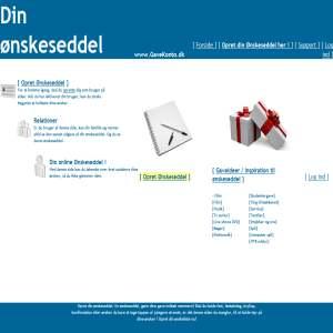 GaveKonto.Dk - Din online ønskeliste