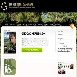 Skattejagt med GPS hos geocaching.dk