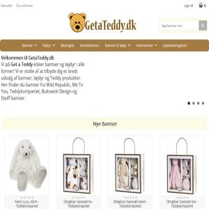 Get a Teddy - Bamser & tøjdyr