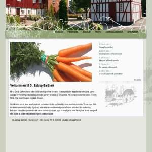 Gl. Estrup Gartneri - bundtede gulerødder porrer forårsløg & små sprøde