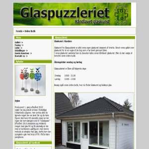 Glaskunst - Glaspuzzleriet.dk
