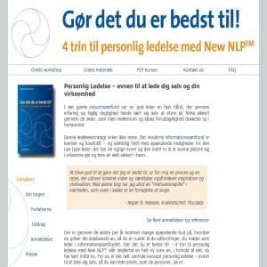 Personlig Ledelse med New NLP