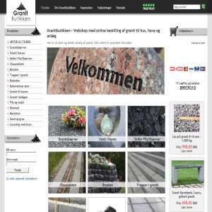 Granitbutikken - Online salg af granit