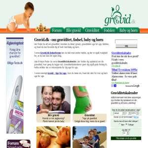 Gravid.dk | Graviditet | Helse | Gravid.dk er en dansk hjemmeside med information om at blive ...