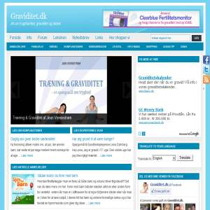 Graviditet.dk - inspiration til gravide og deres familier