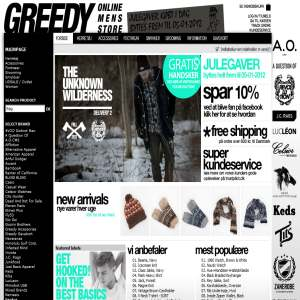 Greedy Online Mens Store