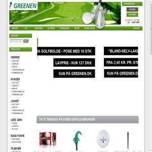 Greenen.dk - Golfudstyr