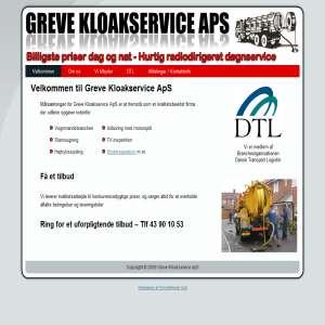 Slamsuger Greve - Kloak arbejde tilbydes i København