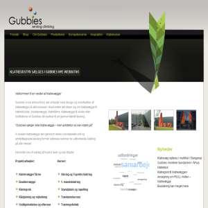 Gubbies - sensing climbing