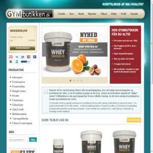GYMbutikken.dk