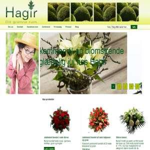 Køb blomster og planter hos Hagir