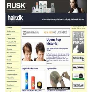 Hair.dk - Danmarks største portal indenfor Hårpleje, Skønhed og Wellness