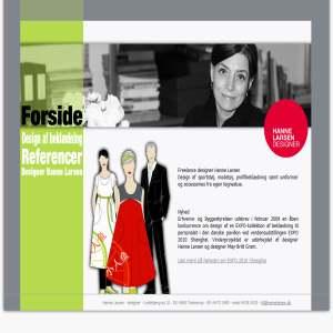 Freelance designer Hanne Larsen