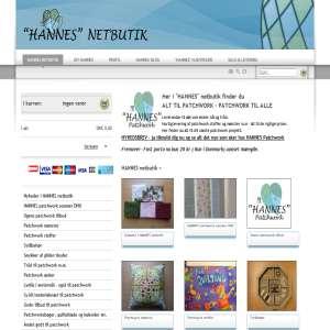 HANNES netbutik - alt til patchwork